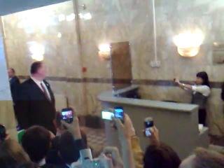 Арнольд Шварценеггер в НИУ-ВШЭ 12.10.2010